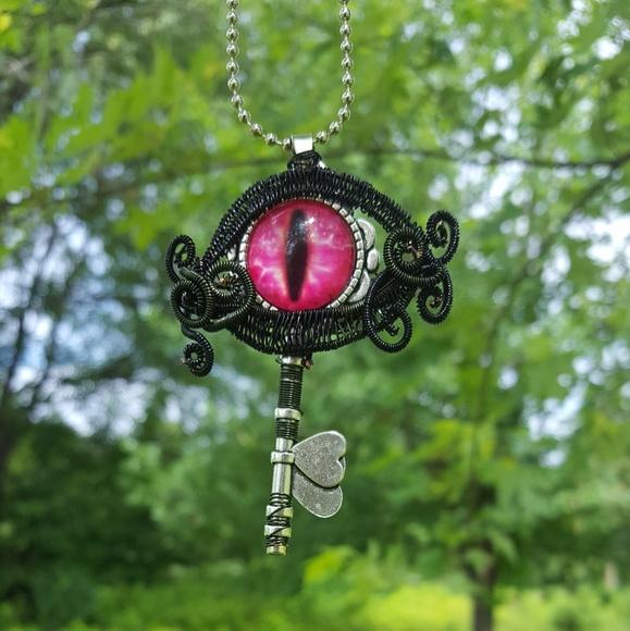 Jewelry Wire Wrap Dragon Eye Necklace Poshmark